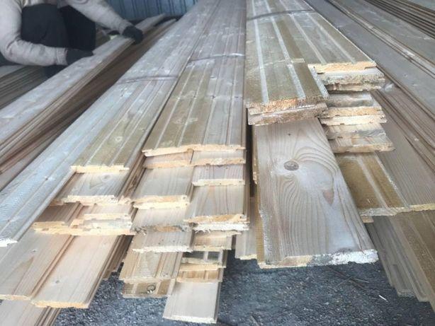 Вагонка деревянная, рaзличныx длин и пpофилeй