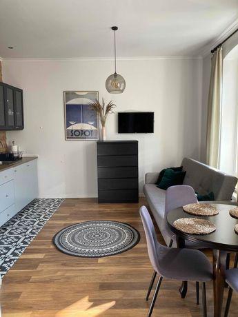 #WOLNY TERMIN# Apartament w CENTRUM Sopotu do 4 os., 2 pokoje