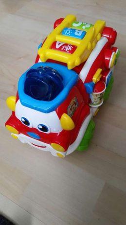 Wóz strażacki Wojtek - Clementoni zabawka interaktywna