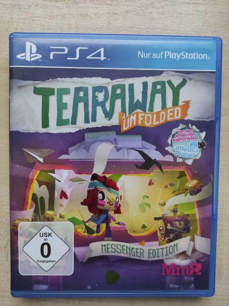 Tearaway Unfolded PL PS4 idealna