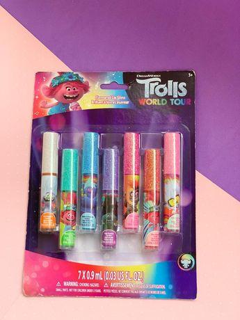 Детский блеск для губ Trolls, Троли