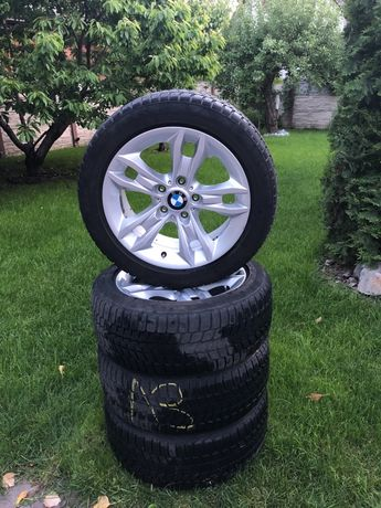 Продам диски r17 bmw с резиной зима 225/50/17 Bridgestone