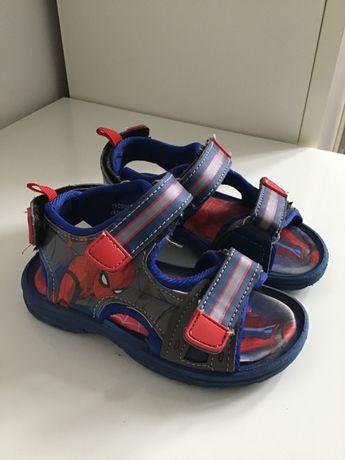 Sandały chłopięce Spiderman rozmiar 23/24