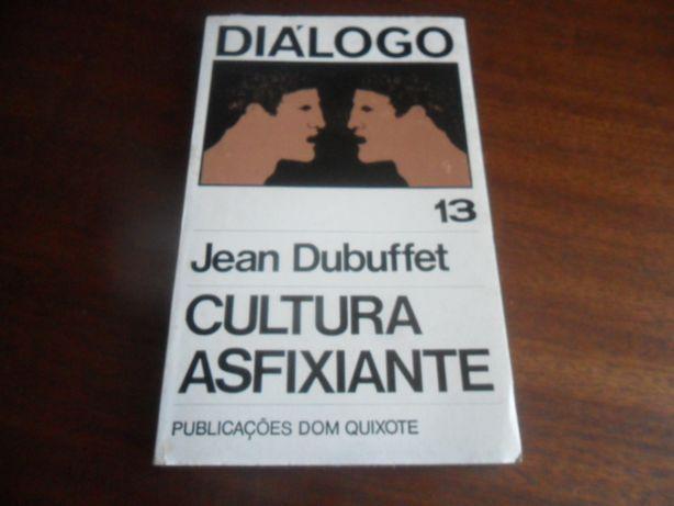 """""""Asfixiante Cultura"""" de Jean Dubuffet - 1ª Edição de 1971"""