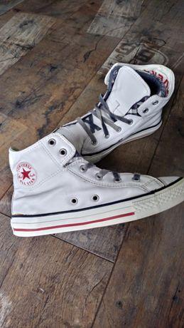 Skórzane trampki Converse, r. 33,5
