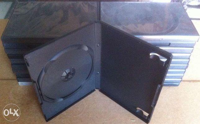 20 caixas para dvd ou cd