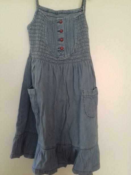 Sukienka jeansowa dla dziewczynki