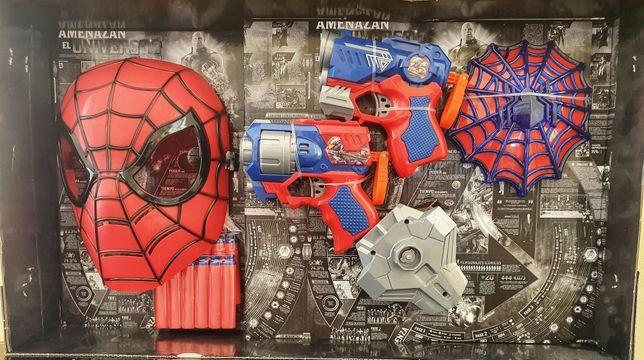 Набор супергероя: Спайдермен, Халк, Железный, человек Капитан Америка