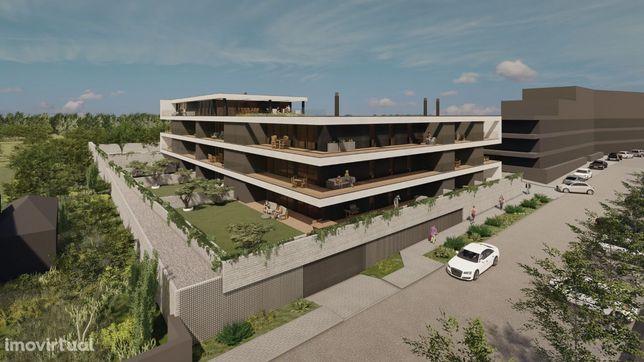 Apartamento T1 em planta, Edifício Gold, Amares