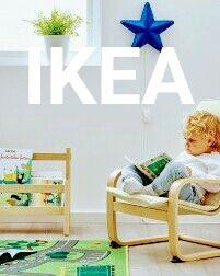 Мебель Ikea, детская комната, кресло, спальня, детский уголок, игры