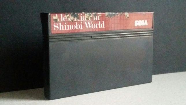 Gra Alex Kidd in Shinobi World Sega Master System