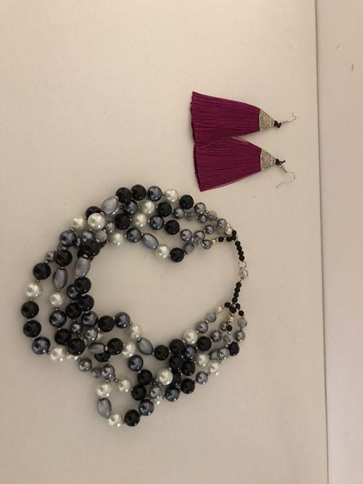 Biżuteria korale naszyjnik kolczyki Dębno - image 1