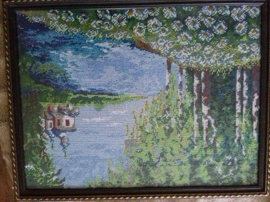 Картина , вишитая Фастов - изображение 1