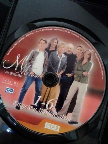 M jak miłość film na DVD odcinki 1-6