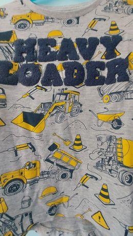 T-shirt camiões como nova