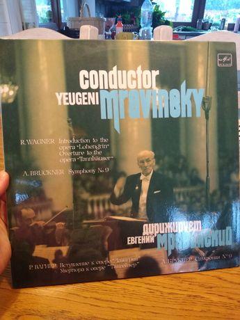 Yugeni Mravinsky Wagner Bruckner winyl