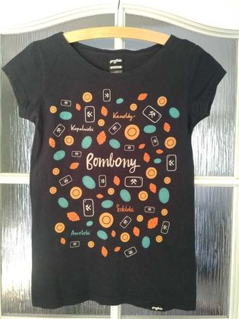 t-shirt Bombony, rozmiar S