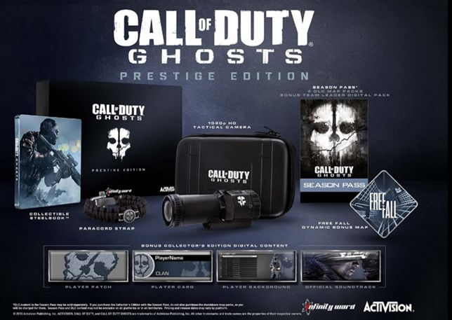 call of duty ghosts collectors edytion