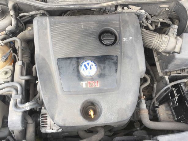 Silnik 1.9TDI 101KM ATD słupek z pompowtryskami A3 Golf VI