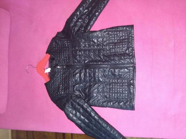 Стильная курточка-пиджак под кожу Zara