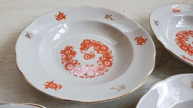 Большие тарелки советские винтажные блюда 4 шт