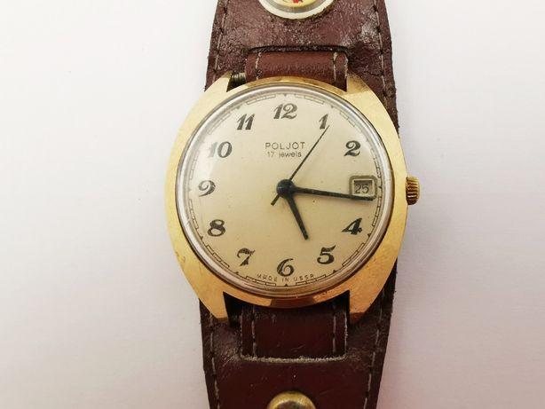 Zegarek POLJOT 17 Jewels AU10 10 mikronów Pasek | Plus Lombard
