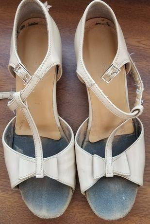 Туфли Eckse спортивно - бальные танцы каблук 3,5 см, длина 21,5 см.