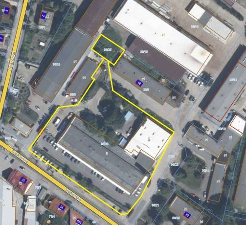 Hala produkcyjna 2000 m2 z/lub magazynem 700 m2 oraz placem manewrowy