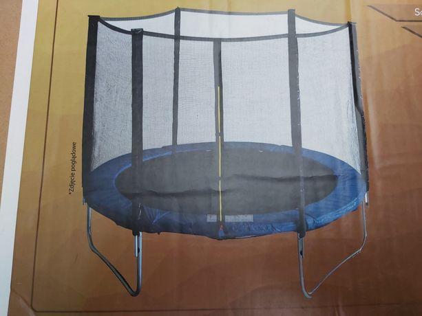 Siatka Zewnętrzna 8ft do trampoliny Nowa kompletna trampolina