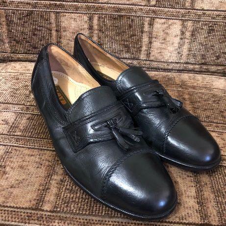 Кожаные мужские туфли 42 размер, Германия