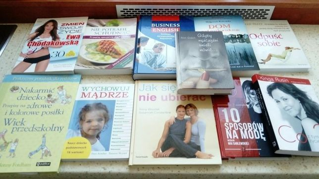 Sprzedam lub zamienie książki, poradniki