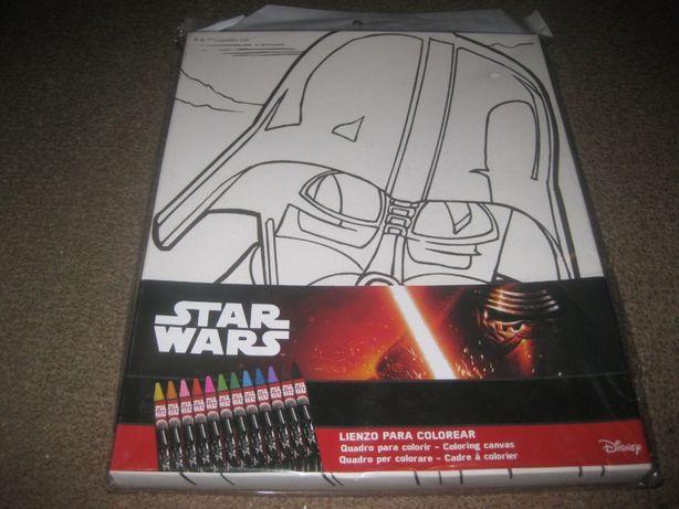 """Quadro/Tela do """"Star Wars"""" para Pintar/Novo e Embalado!"""
