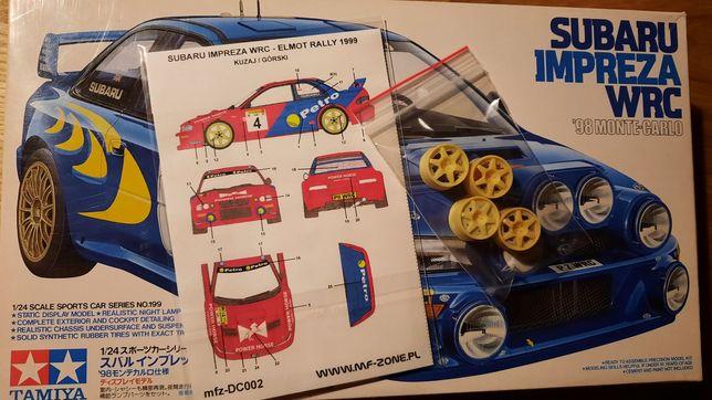 Model Subaru Impreza WRC 98 Monte-Carlo Tamiya.Kuzaj.Elmot.felgi