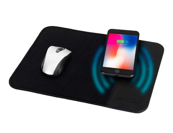 Tapete de rato com carregador wireless integrado