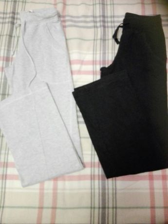 Spodnie dresowe H&M z dzianiny r.34