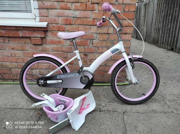 """Велосипед для девочек Crosser Kids (18"""")"""