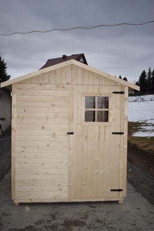 Domek narzędziowy ogrodowy drewniany 180x165x220 lub dowolny wymiar!!!