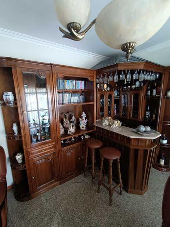 Bar de canto - Móvel de sala