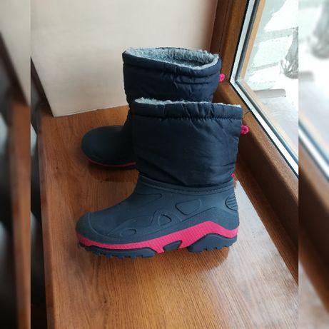 Резиновые сапоги с утеплителем резиновые ботинки гумові чоботи р.34