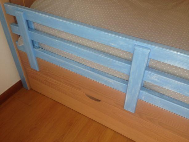 proteção cama de criança