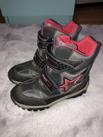 Kozaki buty zimowe Śniegowce Geox świecące rozmiar 33