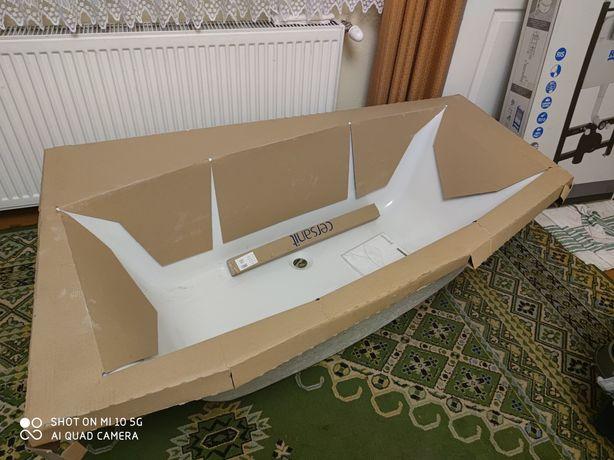 Wanna 150 x 90 cm Cersanit Aida asymetryczna