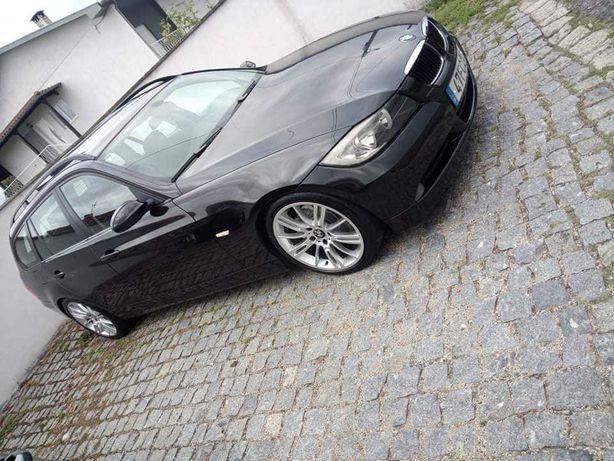 BMW 320d E91 teto panorâmico