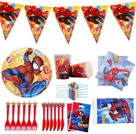 Kit decoração festa aniversário Spiderman Homem Aranha Marvel Avengers