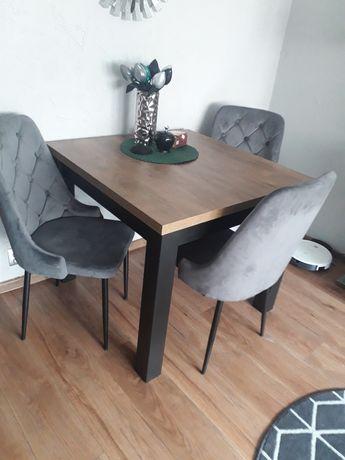 Stół + krzesła stan idealny