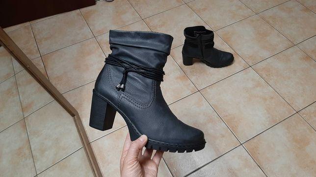 40р,25,5см,Зимние сапоги,ботинки,полуботинки,ботильоны Rieker (Рикер)