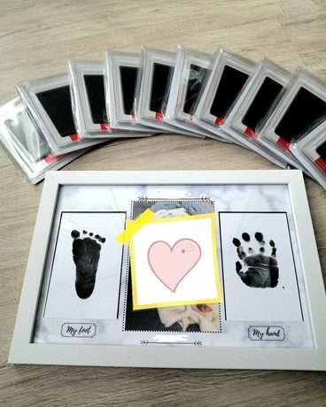 Набор для отпечатков/детские отпечатки/дитячі відбитки