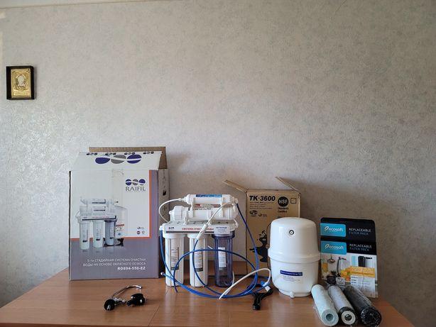 Система очистки воды Raifil GRANDO RO894-550-EZ обратный осмос 5 стади