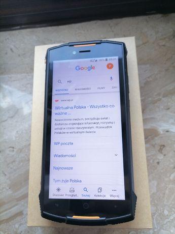Smartfon DOOGEE S55 Czarno-pomarańczowy