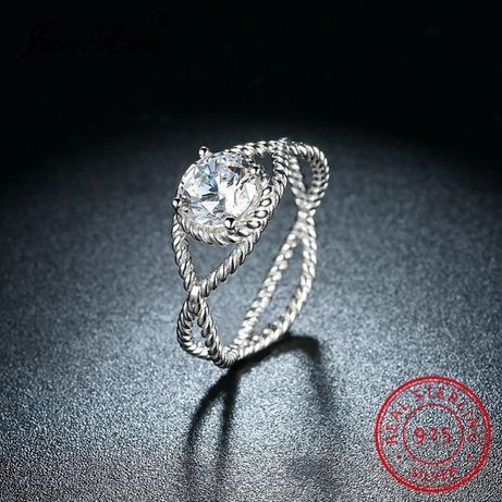 Oryginalny pierścionek srebro 925 nowy rozm 18 8 PROMOCJA